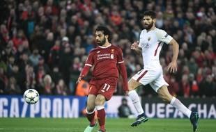 Mohamed Salah a inscrit un doublé