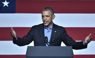 Barack Obama à Austin (Texas), le 11 mars 2016.