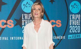 Michèle Laroque lors de l'édition 2020 du Festival International du Film de Comédie de l'Alpe d'Huez, en Isère