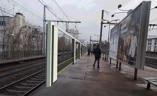Des rideaux à quais seront expérimentés à partir de début 2019 sur les quais de la gare Vanves-Malakoff, ligne N du Transilien.