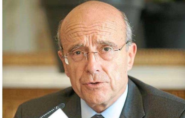 Alain Juppé, le 25 juin 2012 à Bordeaux