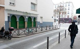 La mosquée Omar, rue Jean Pierre Timbaud à Paris.