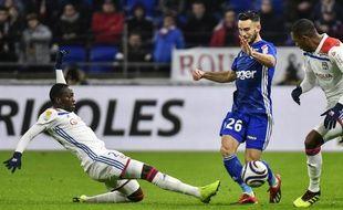 Lyon reçoit Strasbourg en Coupe de la Ligue, le 8 janvier 2019.
