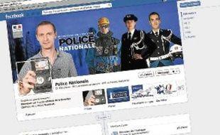 Sur Internet, la police veut rendre service et promouvoir ses métiers.