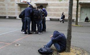 En France, un élève sur dix est victime de harcèlement scolaire.