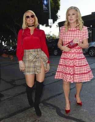 Paris et Kathy Hilton, à Los Angeles, le 21 septembre.