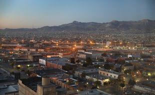 Ciudad Juarez vu du côté Texas de la frontière entre les États-Unis et le Mexique le 14 octobre 2016.