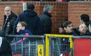 José Mourinho, le 27 novembre 2016 à Old Trafford.