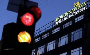 Le siège du quotidien  Jyllands-Posten, à Copenhague, en 2009.
