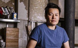 Le chef japonais Taku Sekine en 2016.