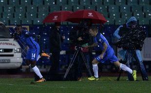 Blaise Matuidi a ouvert le score pour les Bleus.
