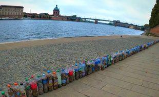 En deux heures, près de 228.735 mégots ont été ramassés dans toute la ville de Toulouse.