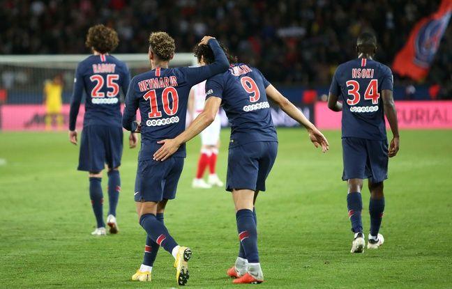 PSG: Neymar sûrement ménagé face à Amiens, Cavani «très important pour l'équipe»