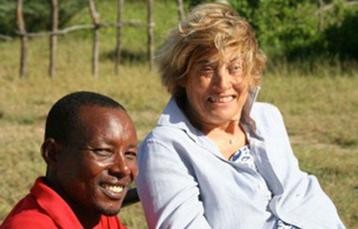 Marie Dedieu et son compagnon kényan, John Lepapa. – REUTERS/Handout