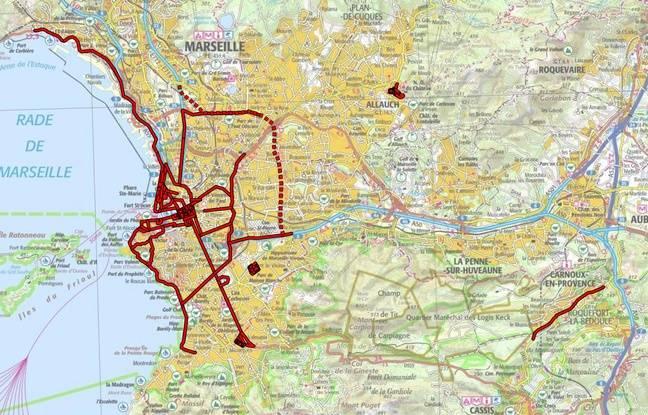 Les zones d'acquisition du Stéréopolis.
