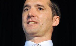 Stéphane Heulot, manager de l'équipe cycliste Saur-Sojasun, le 12 janvier 2010