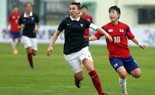 La Malouine Justine Gourvil, capitaine d'une équipe de France militaire qui avait décroché l'argent aux Jeux Mondiaux 2015.