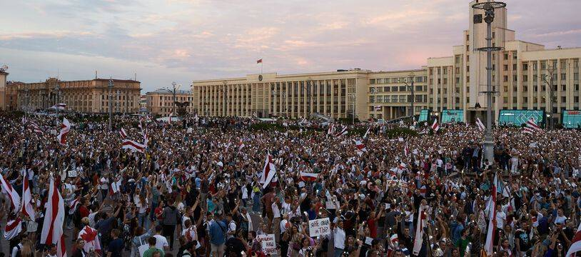 Manifestation en Biélorussie