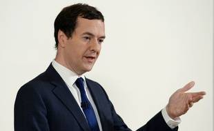 George Osborne, ministre britannique des Finances