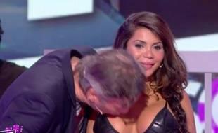 Soraya embrassée en direct chez Hanouna par Jean-Michel Maire