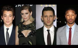 Miles Teller, Kate Mara, Jamie Bell et Michael B. Jordan.