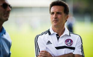 Christophe Pelissier, l'entraîneur d'Amiens