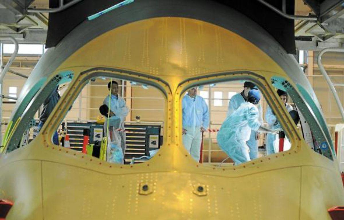 Airbus Nantes, qui emploie 2080 salariés, a aussi recours à 365 intérimaires. –  F. Elsner / 20 Minutes