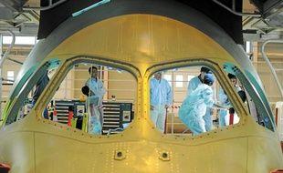 Airbus Nantes, qui emploie 2080 salariés, a aussi recours à 365 intérimaires.