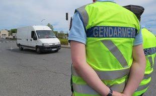 Lors d'un contrôle de la gendarmerie de la Haute-Garonne