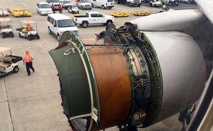 Le vol United 1175 a dû se poser d'urgence à Honolulu, le 13 février 2018 après avoir perdu un capot moteur.