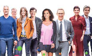 Détail d'un visuel de M6 diffusé à l'occasion de la rentrée de la chaîne.