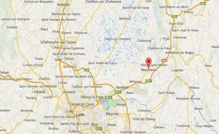 Meximieux (Ain) google map