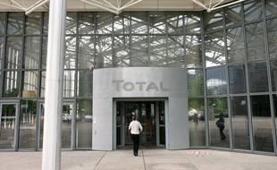 Le siège du groupe pétrolier Total à la Défense.