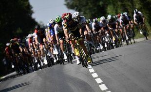 Le peloton du Tour de France part de la Baule ce mardi.