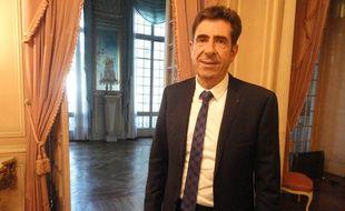 Charles-Ange Ginésy, le président du département des Alpes-Maritimes