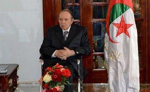 Le président algérienAbdelaziz Bouteflika à Alger, le 16 juillet 2013.