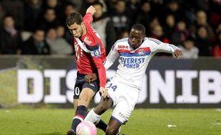 Le Lillois Eden Hazard, le 10 mars 2011, au stade de Gerland, contre Lyon.