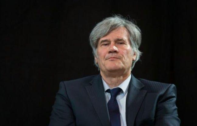 Le ministre de l'Agriculture Stéphane Le Foll à Paris, le 25 avril 2016