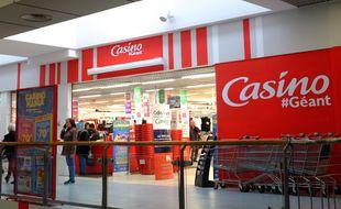 Un hypermarché Géant Casino
