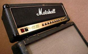 Un ampli Marshall.