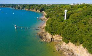 Les plages de Saint-Nazaire (Loire-Atlantique).