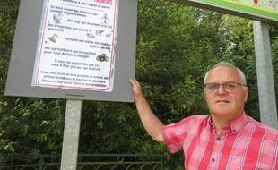 Le maire d'Inchy-en-Artois, dans le Pas-de-Calais, a décidé de prévenir ses concitoyens.