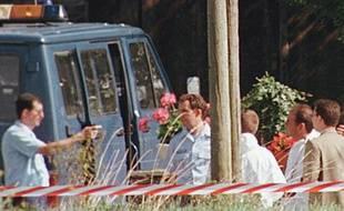 Reconstitution de la tuerie de Saint-Didier où cinq personnes avaient trouvé la mort sous les balles de Joseph Allain en 1997.