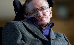 Stephen Hawking à Cambridge, le 19 septembre 2013.