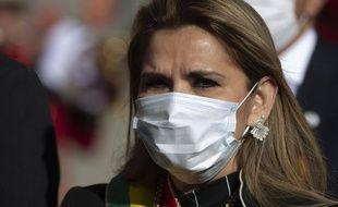 La présidente par intérim de la Bolivie, Jeanine Añez, à La Paz le 6 août 2020.