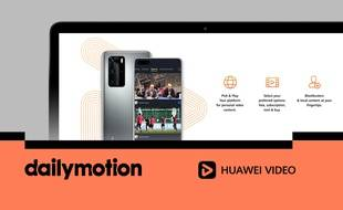 Huawei s'associe à Dailymotion pour contrer Youtube