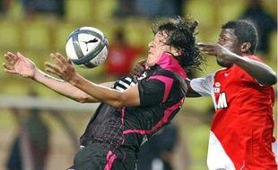 Pour sa première titularisation, l'attaquant paraguayen Federico Santander (19 ans) s'est bien battu, mais sans réussite.