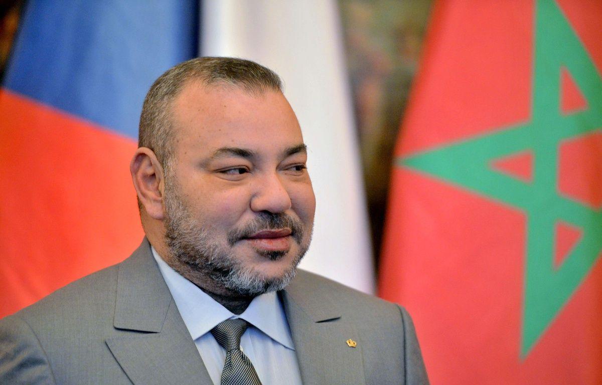 Le roi du Maroc Mohammed VI à Prague, en République tchèque, le 21 mars 2016. – Michal Dolezal/AP/SIPA