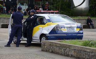 Des policiers brésiliens à Sao Paulo (illustration).