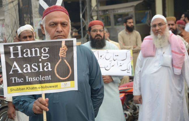 648x415 partisan tlp parti islamiste extremiste demandant mort chretienne asia bibi pakistan